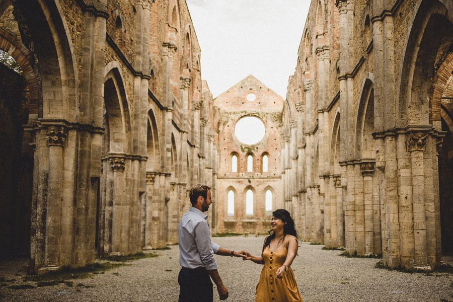 Abbey of San Galgano wedding photographer