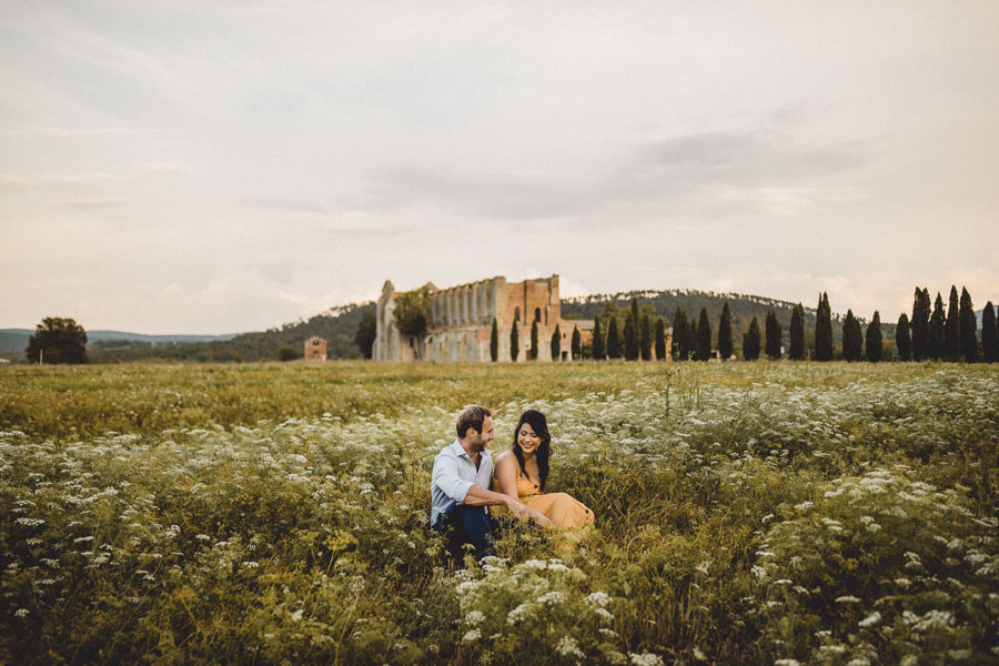 Abbey of San Galgano wedding photographer Italy