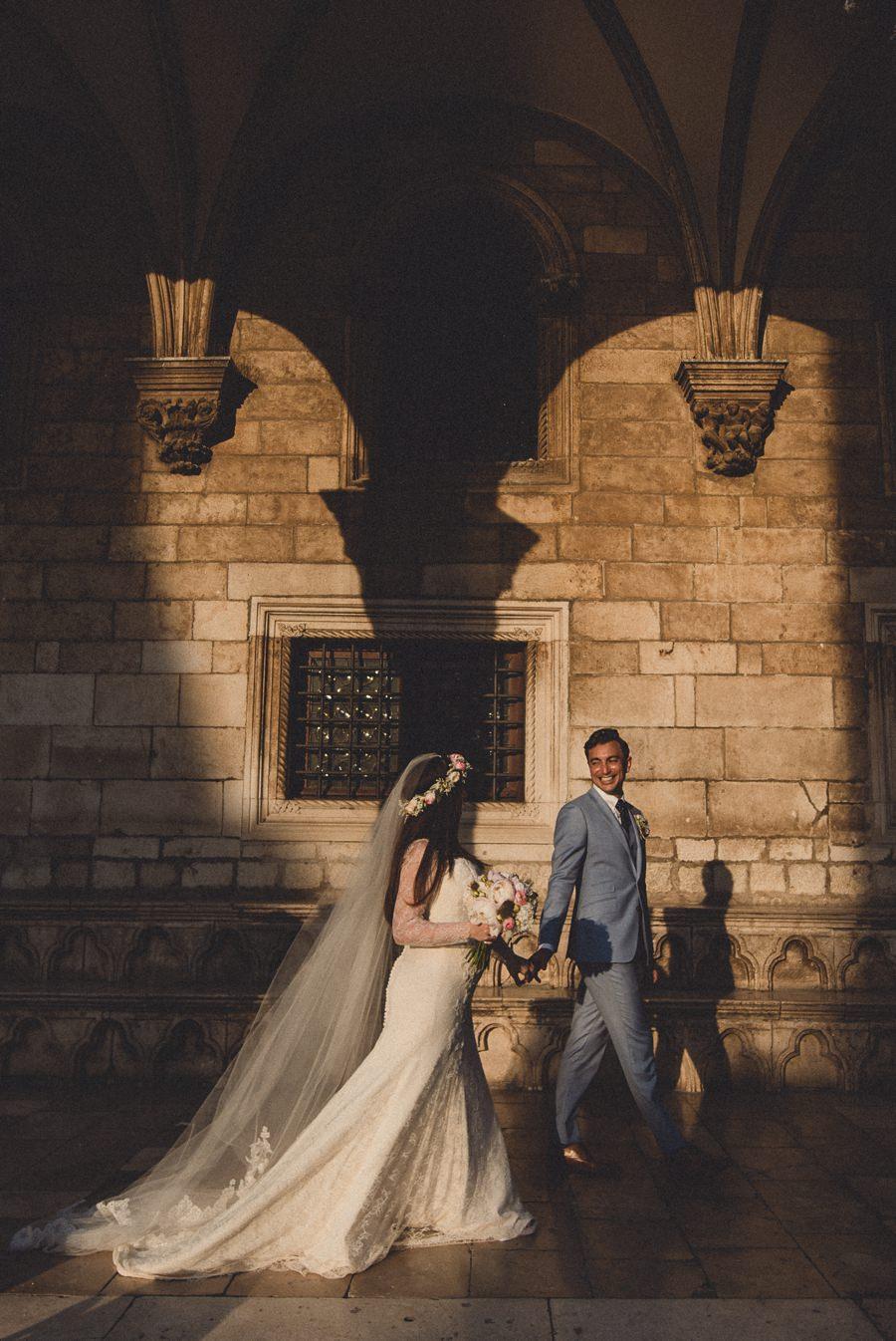 Fort Lovrijenac Dubrovnik wedding photographer